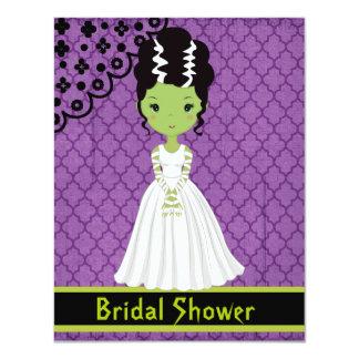 Invitación nupcial de la ducha de Halloween