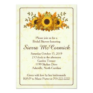 Invitación nupcial de la ducha de la guirnalda del invitación 11,4 x 15,8 cm
