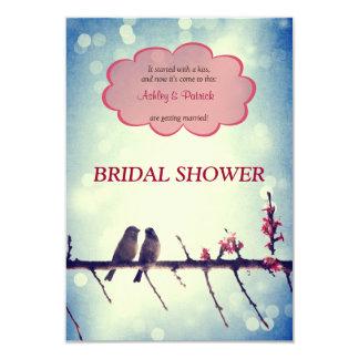 Invitación nupcial de la ducha de la historia 2 de
