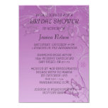 Invitación nupcial de la ducha de la mariposa invitación 11,4 x 15,8 cm