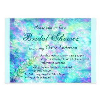 Invitación nupcial de la ducha de la primavera de
