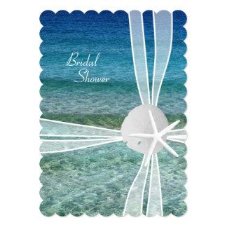 Invitación nupcial de la ducha de las estrellas de invitación 12,7 x 17,8 cm