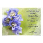 Invitación nupcial de la ducha de las pequeñas invitación 12,7 x 17,8 cm