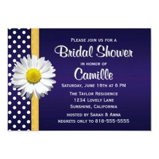 Invitación nupcial de la ducha de YellowDaisy de
