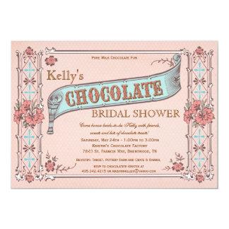 Invitación nupcial de la ducha del fiesta del