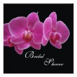 Invitación nupcial de la ducha -- Orquídeas