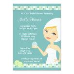 Invitación nupcial del fiesta de ducha del