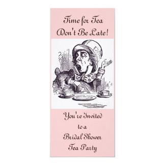 Invitación nupcial del té