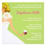 Invitación nupcial del vino