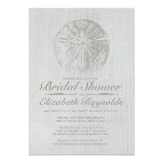 Invitación nupcial elegante de la ducha del dólar invitación 12,7 x 17,8 cm