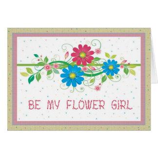 Invitación nupcial floral del fiesta del florista tarjetas