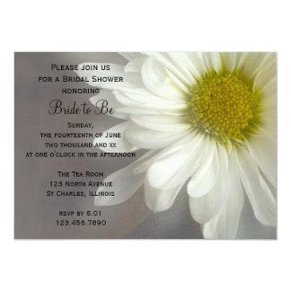 Invitación nupcial suave de la ducha de la invitación 12,7 x 17,8 cm
