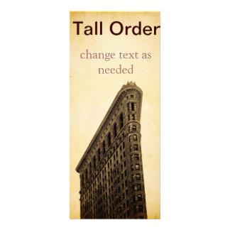 Invitación o postal del vintage NYC del mucho pedi