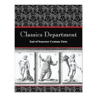 Invitación, obras clásicas, mitología, imperio