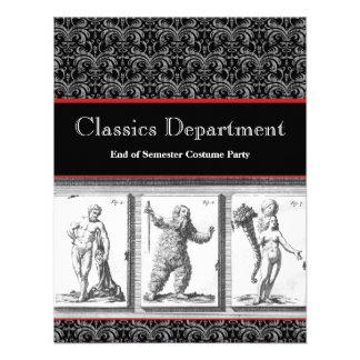 Invitación obras clásicas mitología imperio rom