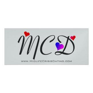 Invitación oficial del personalizable de MCD