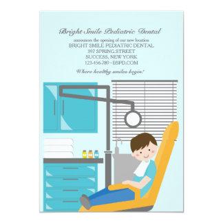 Invitación paciente dental del dentista