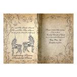 Invitación perfecta del boda del unicornio del gui