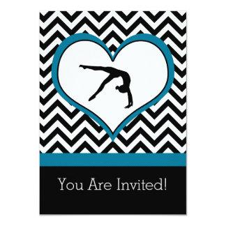 Invitación personal del fiesta del corazón de