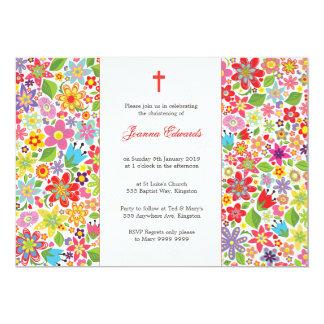 Invitación personalizada bautismo del bautizo del