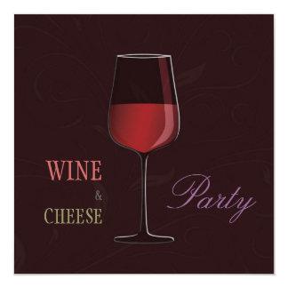 Invitación personalizada fiesta del vino y del