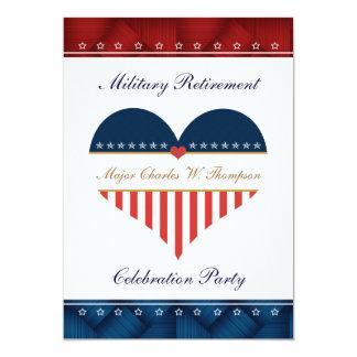 Invitación personalizada militar del fiesta de