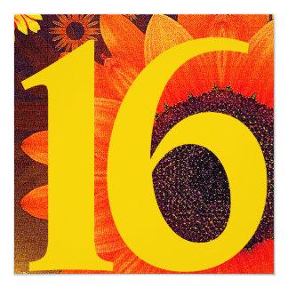 Invitación-Personalizar ideal floreciente del
