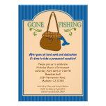 Invitación pesquera ida del fiesta de retiro