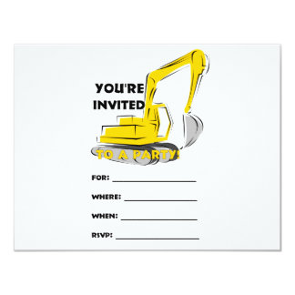 Invitación picadora invitación 10,8 x 13,9 cm
