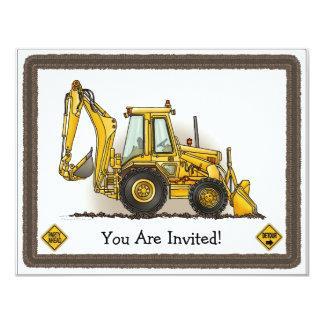 Invitación picadora del fiesta de los niños de la invitación 10,8 x 13,9 cm