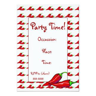 Invitación - pimientas del chile picante