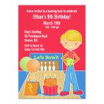 Invitación plana de la fiesta de cumpleaños de los invitación 12,7 x 17,8 cm