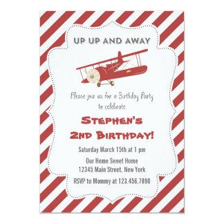 Invitación plana de la fiesta de cumpleaños del