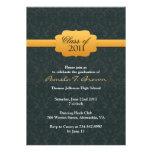 Invitación plana de la graduación 2011