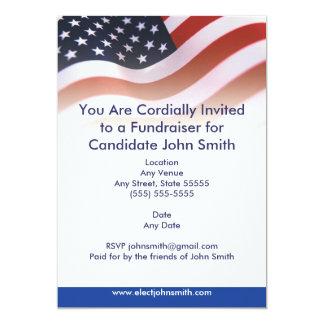 Invitación política de la bandera