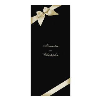 Invitación poner crema del boda de la cinta
