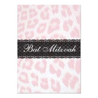 Invitación popular de Mitzvah del palo del Invitación 12,7 X 17,8 Cm