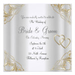 Invitación popular y elegante de la bodas de plata