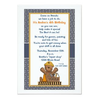 Invitación práctica de la fiesta de cumpleaños del