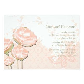 Invitación preciosa del boda del día invitación 12,7 x 17,8 cm