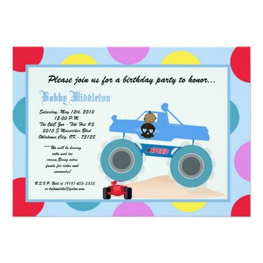 invitación punky de la fiesta de cumpleaños del ca