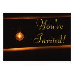 Invitación que brilla intensamente