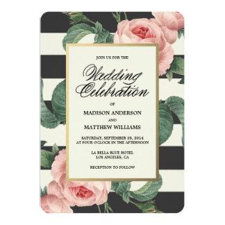 Invitación que se casa botánica del encanto el |