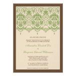 Invitación querida del boda del cordón 5x7 del dam