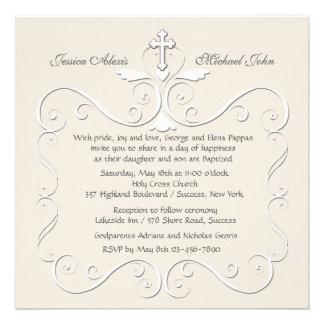 Invitación religiosa del corazón blando