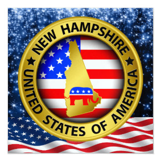 Invitación republicana de New Hampshire - srf
