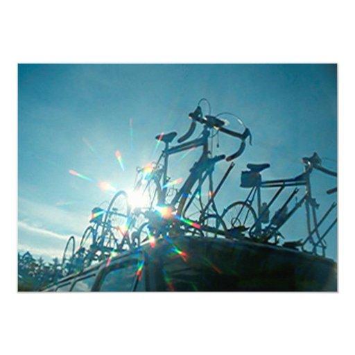 Invitación - reunión de la bicicleta para arriba