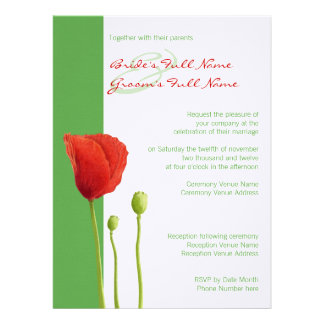 Invitación roja 2 del boda de la manzana de la ama