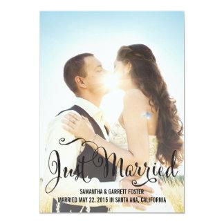 Invitación romántica del boda de la escritura -