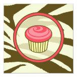 Invitación rosada del día de la magdalena B -